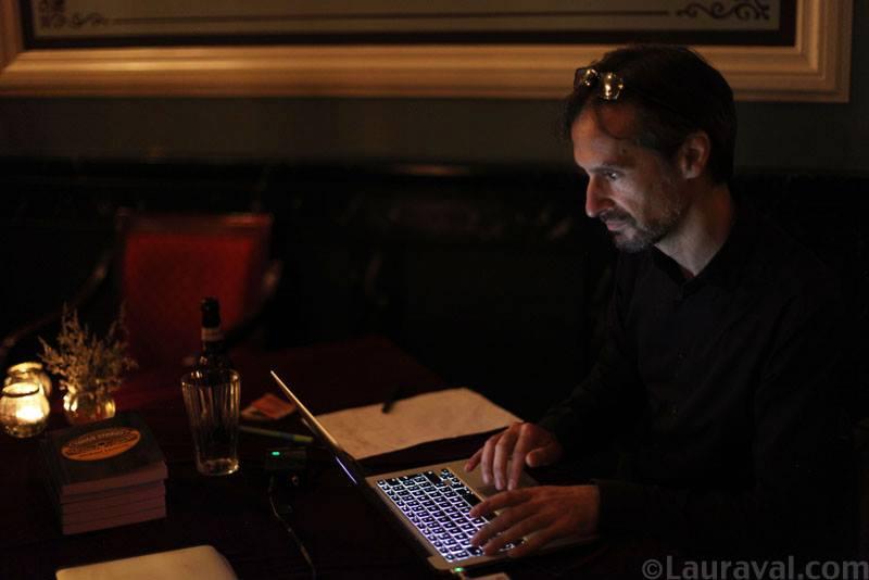 DJing at Tango on Iceland 2015. Photo © Laura Valentino