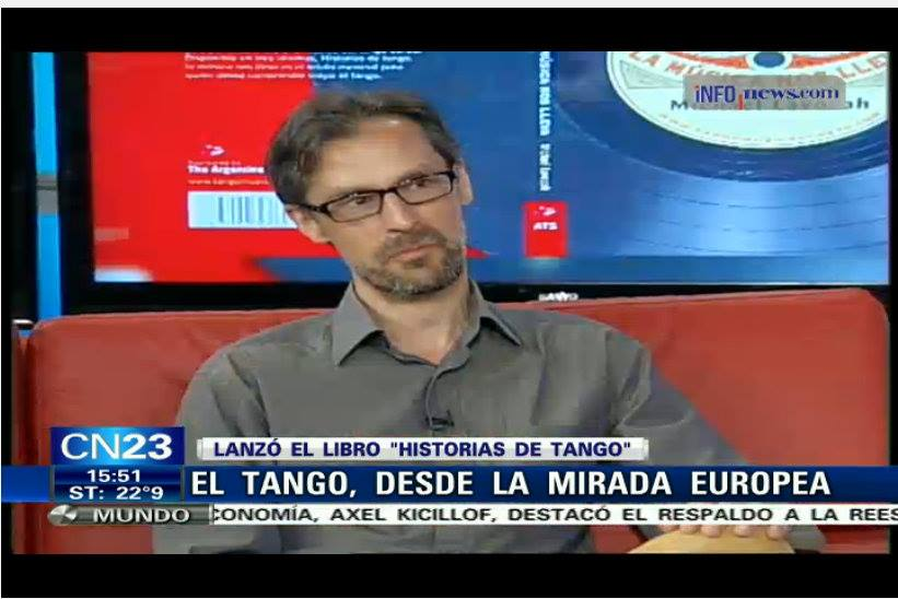 Michael Lavocah on CN23, 17-04-2015