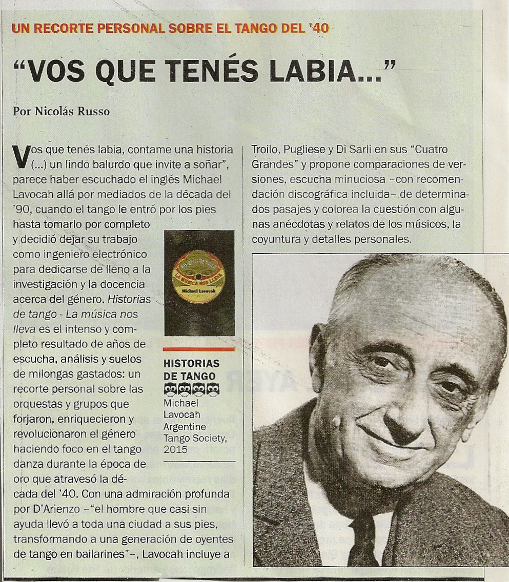 review in Revista Veintitrés (small)