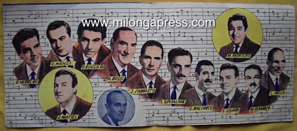 Pugliese tarjeta May 1958